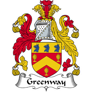 Greenway Family Crest / Coat of Arms