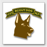 Scout Dogs - w scroll and patch -
