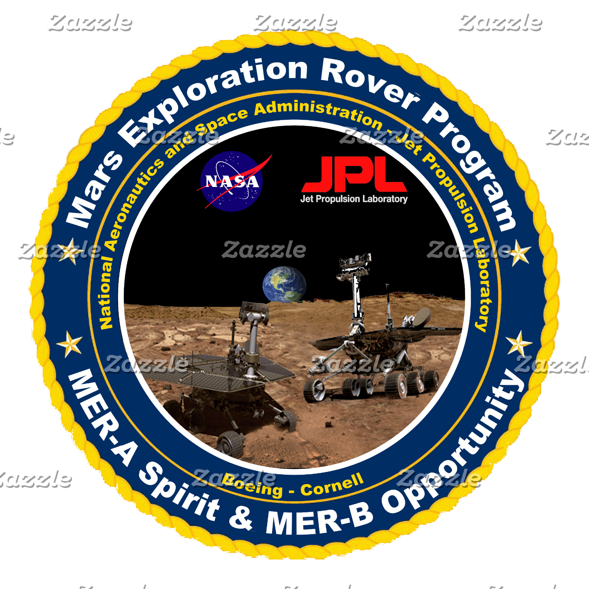 Unmanned Space Mission Logos