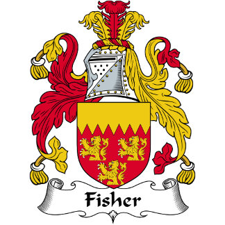 Fisher Family Crest / Coat of Arms