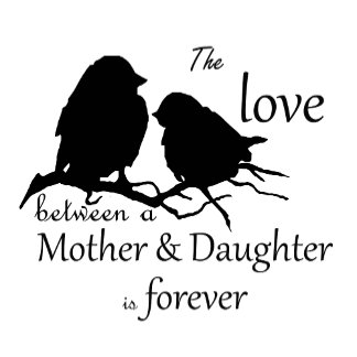 Mother Daughter Bird