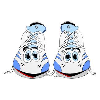 Sport Shoes Cartoon