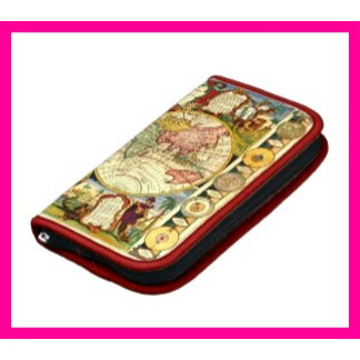 Folio Case for Phone Zippered Clutch Wallet Purse