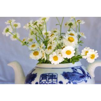 Daisy Bouquet in a Teapot