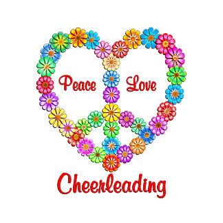 Cheerleading Peace Love