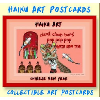 Haiku Art Postcards