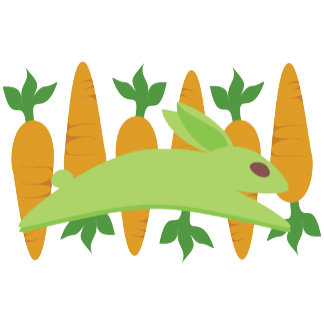 Gwennie The Bun With Carrots