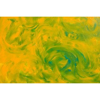 Abstract Improvisational Acrylics