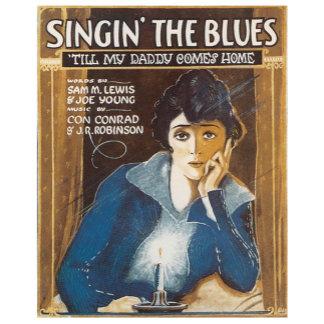 Singing The Blues - Vintage Song Sheet Music Art
