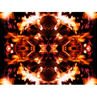 Flame Fractal Hell Fire Inferno