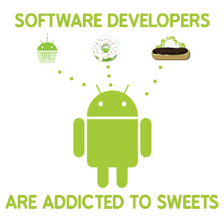 Software Developers Are Addicted To Sweets