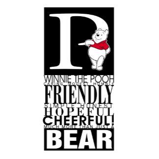 "Winnie The Pooh's ""P"" Design"