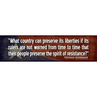 Jefferson: What country can preserve its liberties