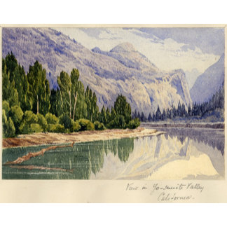 View in Yo-Semite Valley California
