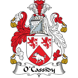 O'Cassidy Coat of Arms