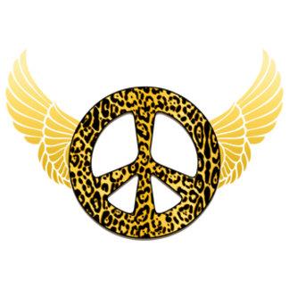 Cheetah Peace Angel