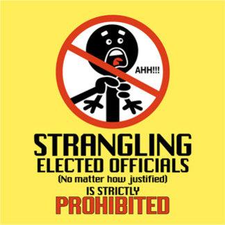 Strangling Prohibited