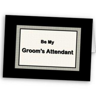 Groom's Attendant