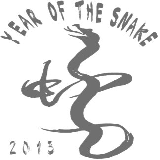 Year Of The Snake - Grey