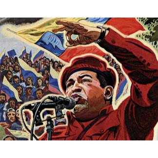 Hugo Chavez - Cartoon Revolution style