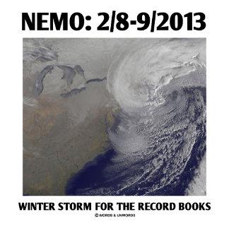 Nemo: 2/8-9/2013 Winter Storm For Record Books