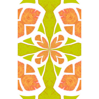 Abstract Chic Floral Goddess Geometric Pattern