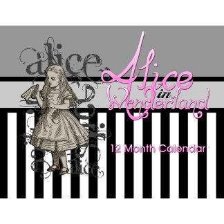 Alice In Wonderland Calendars
