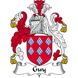 Guy Family Crest / Coat of Arms