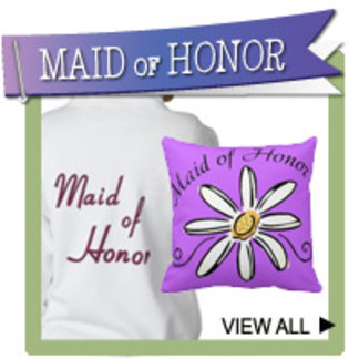 Maid of Honor T-shirts, Gifts, Wedding Favors