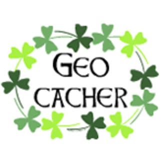 Geocacher Shamrock Oval