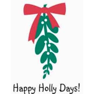 Mistletoe_Happy Holly Days