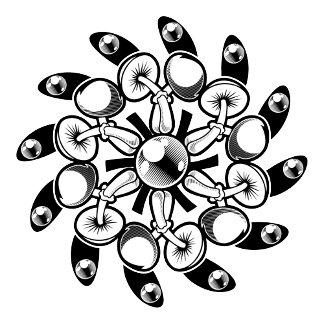 Black and White Design Gallery