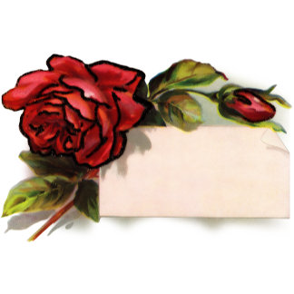 Vintage Rose Customize with Your Name