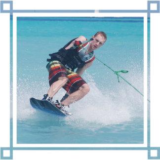Wakeboarding Tail Grab