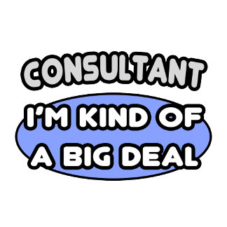Consultant .. Kind of a Big Deal