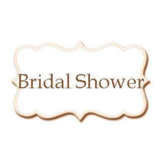 •Bridal Shower Invitations