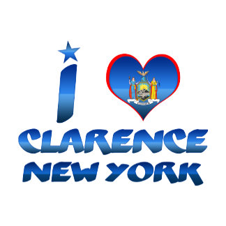 I love Clarence, New York