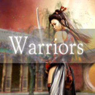 Warrior Digital Art