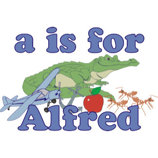 A is for Alfred