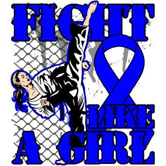 Rectal Cancer Fight Like A Girl High Kick