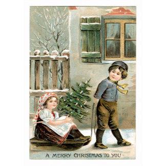 A Merry Christmas To You ~ Winter Sledding