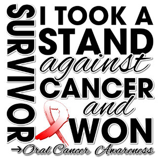 I Took a Stand Against Oral Cancer and Won