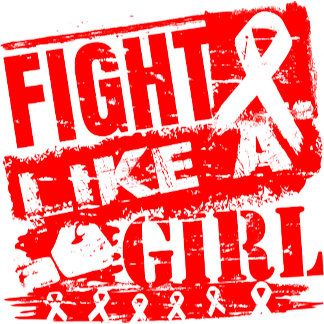 Blood Cancer BurnOut Fight Like a Girl