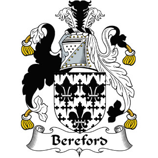 Bereford Family Crest / Coat of Arms