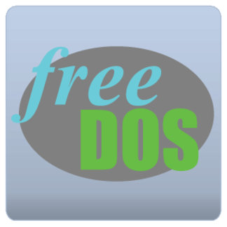 Retro FreeDOS Logo