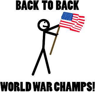America Back to Back World War Champs USA