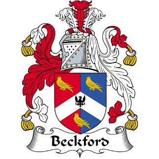 Beckford Family Crest / Coat of Arms