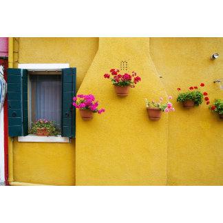 Island of Burano, Burano, Italy. Colorful Burano