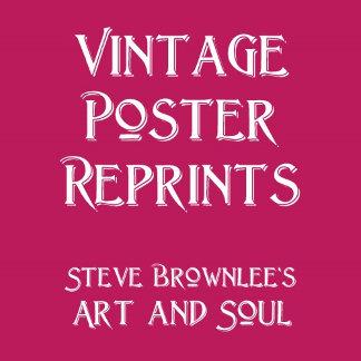 Vintage Poster Reprints