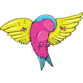Bird 5 ~ Vintage Forties Tattoo Bird Art